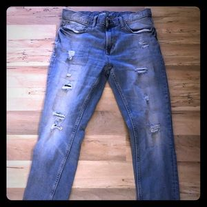 Distressed Old Navy Jeans!!